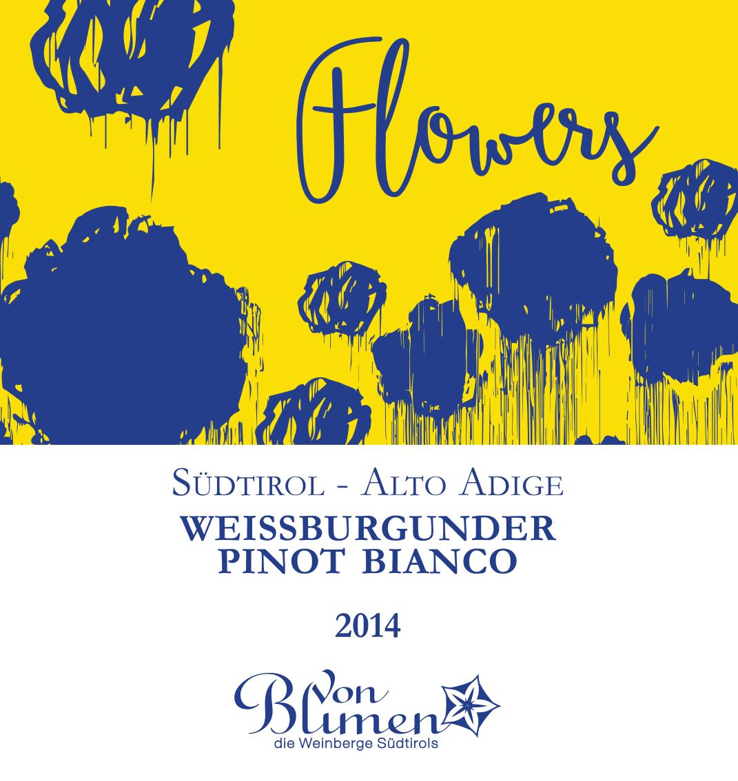 """Etichetta """"FLOWERS"""" per Von Blumen"""